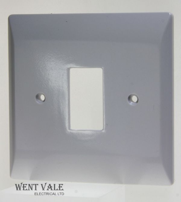 Super Switch - Grid Switch Range - SW541 - 1 Gang 1 Module Grid Switch Plate